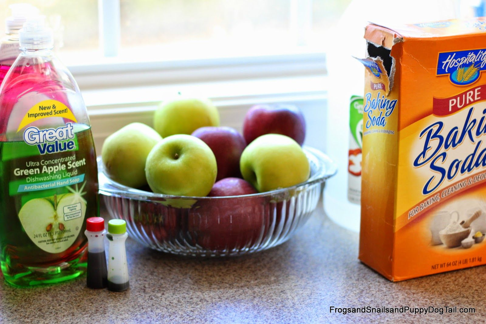 How To Make Apple Scented Soda Dough