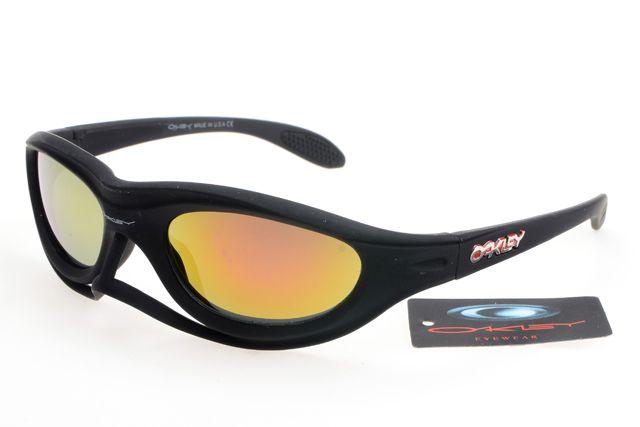 d3ad8cbe80b Oakley Crankcase Sunglasses Black Frame Colorful Lens 0185