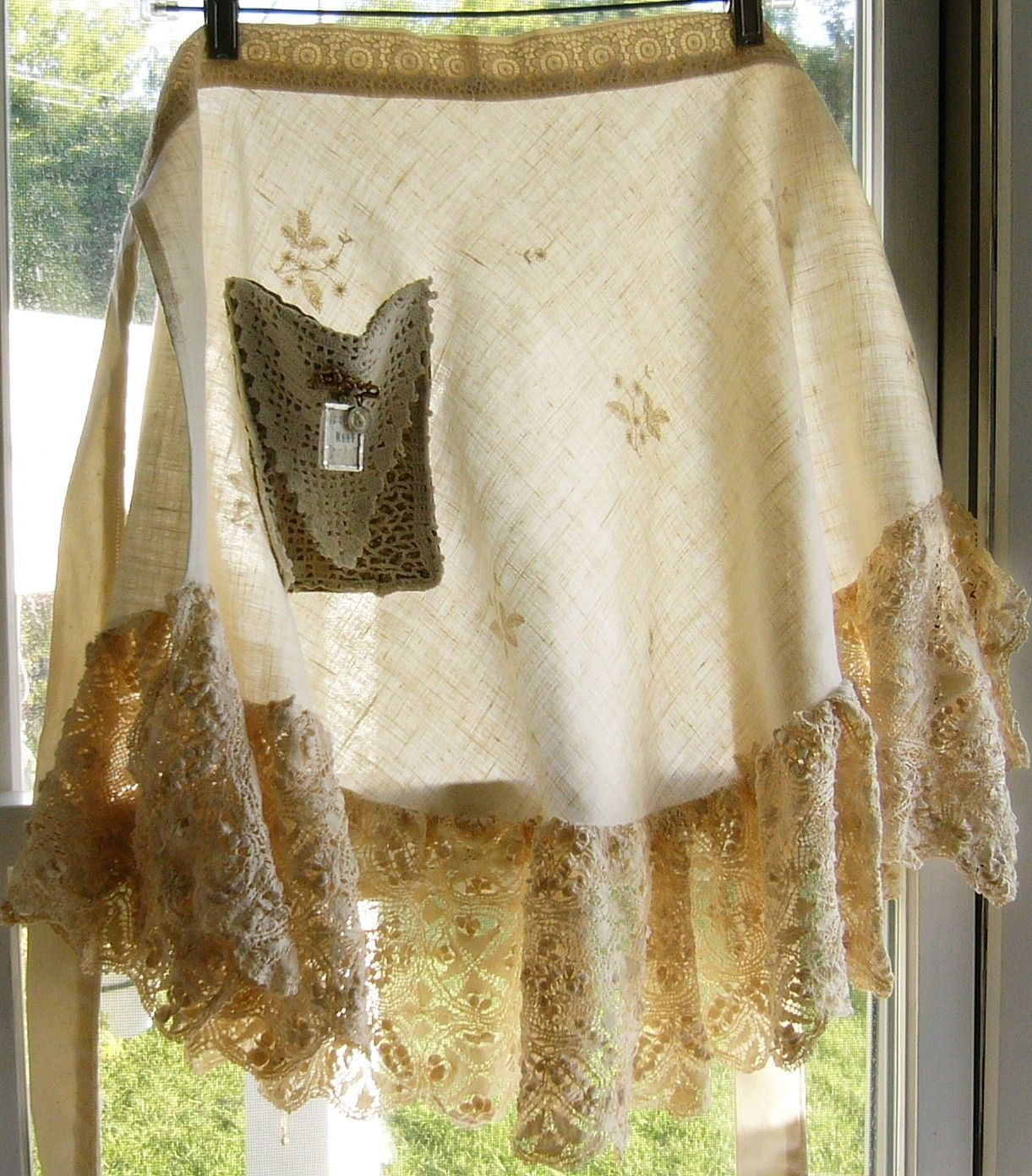 Vintage Schürze Küche Linen And Lace So Pretty Beautiful Aprons Nähen