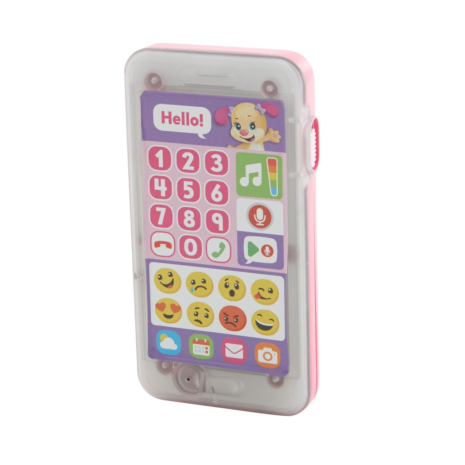 Fisherprice laugh learn leave a message smart phone