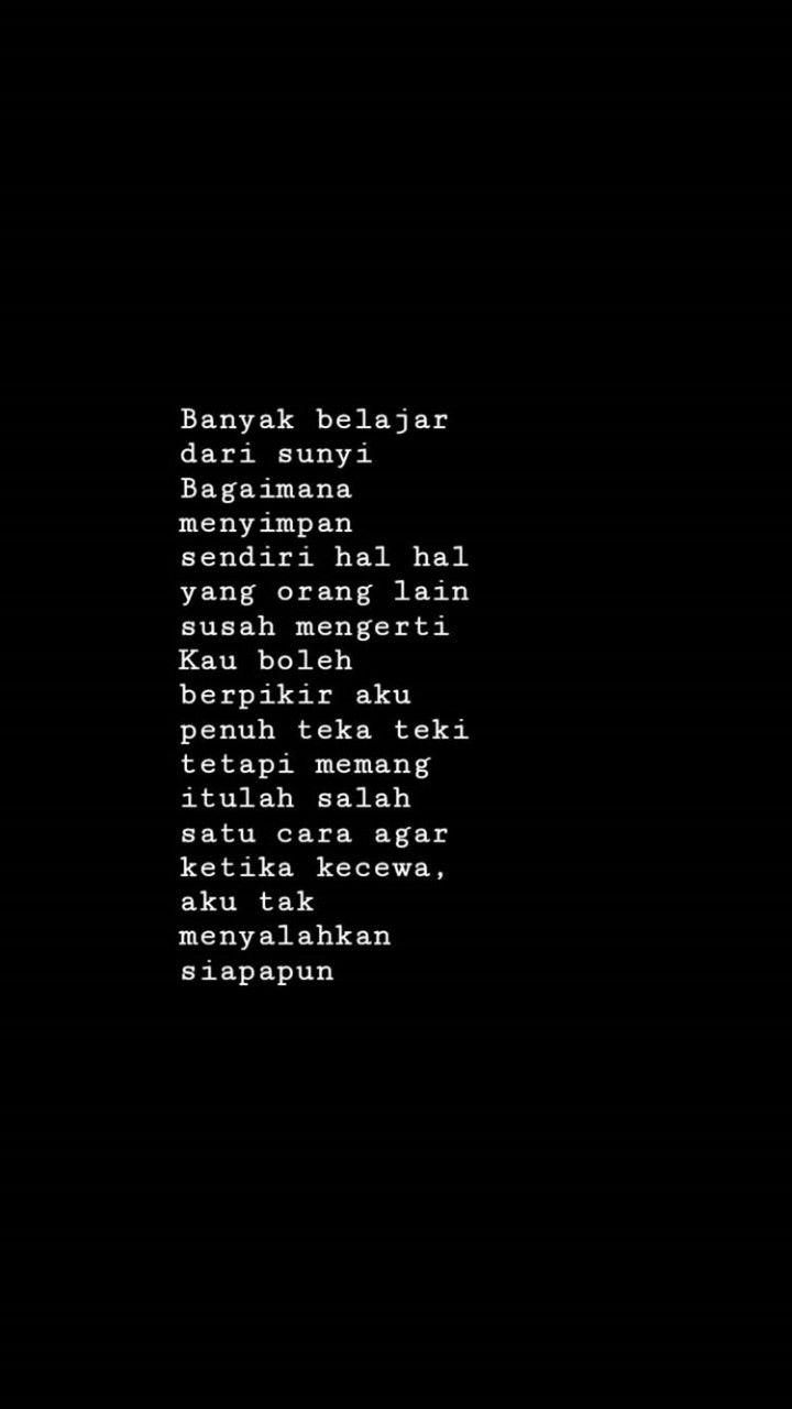 Lonely Kata Kata Indah Motivasi Islamic Quotes
