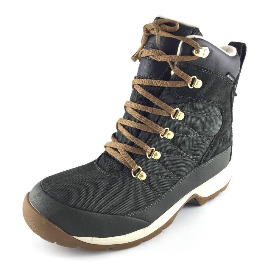 Chilkat Nylon Greenbrown The Boots Women Winter North Face LAq4Rj35