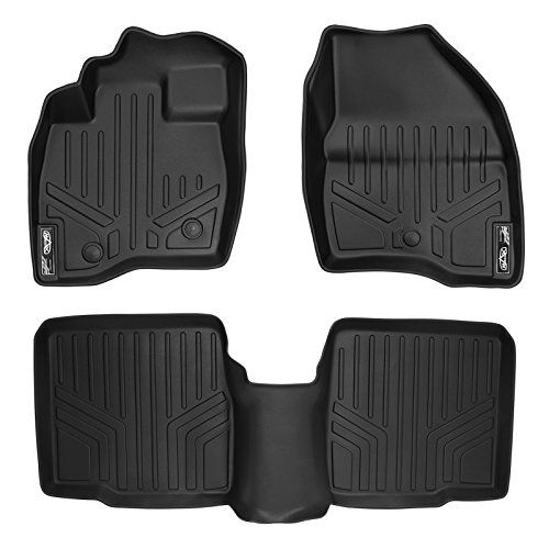 Maxfloormat Floor Mats For Ford Explorer Without Second Row Center Console 2017 2 Row Set Black Ford Explorer 2019 Ford Explorer Floor Mats