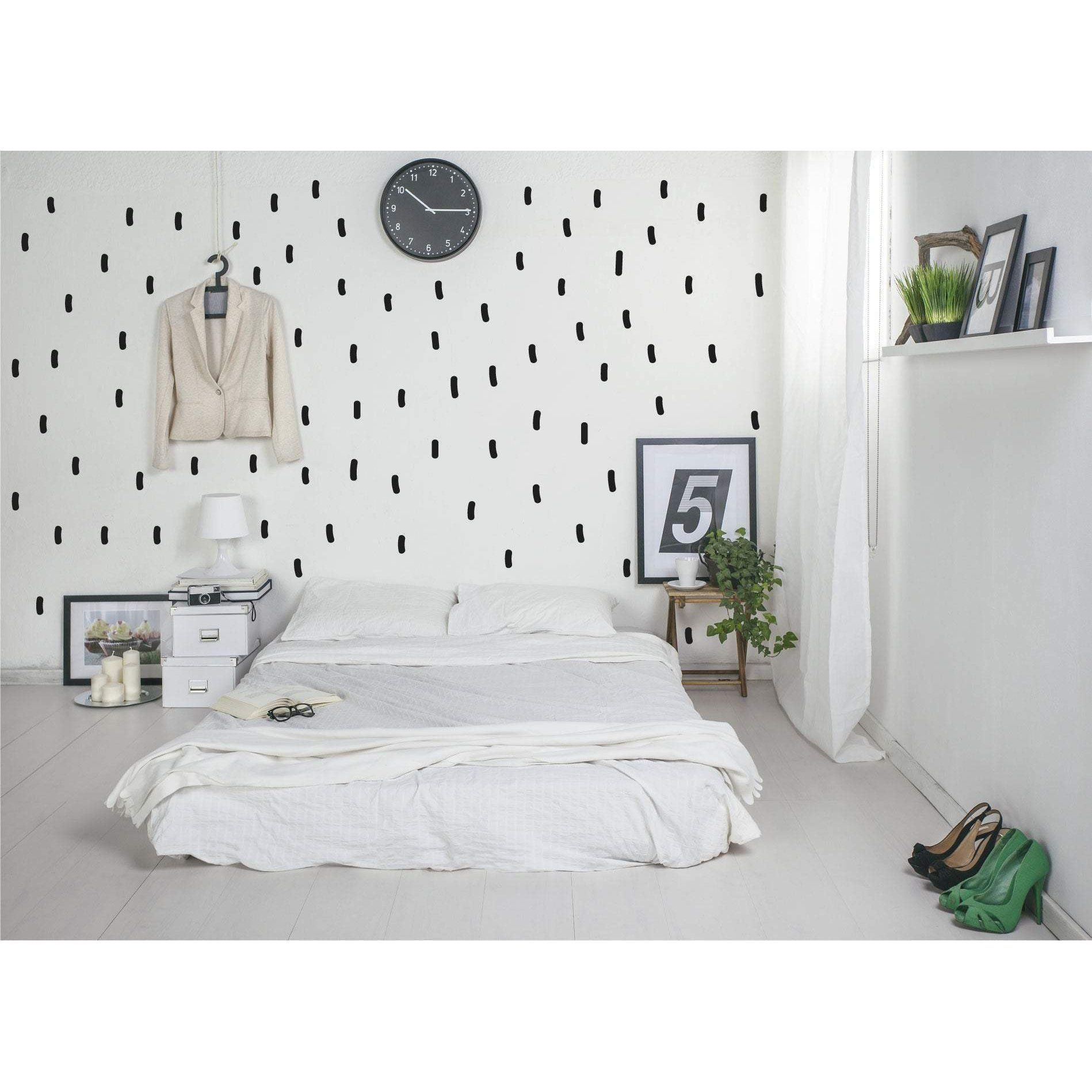 Sprinkle Modern Wall Sticker Shapes Wall Decor Stickers Nursery Wall Stickers Modern Wall Stickers