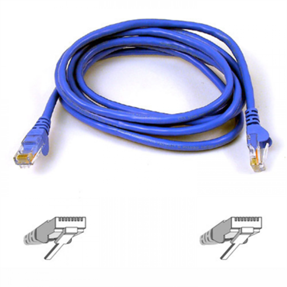 Belkin RJ45 FastCAT™ 5e Patch Cable, Snagless Molded, 50