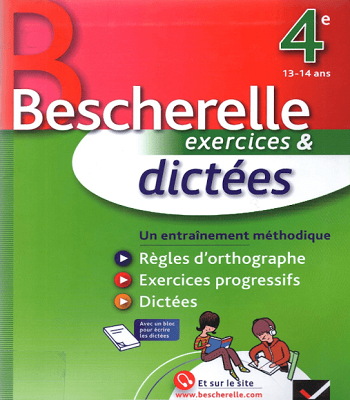 Livre Bescherelle Exercices Et Dictees En Pdf Grammar Book Pdf How To Memorize Things Learn French