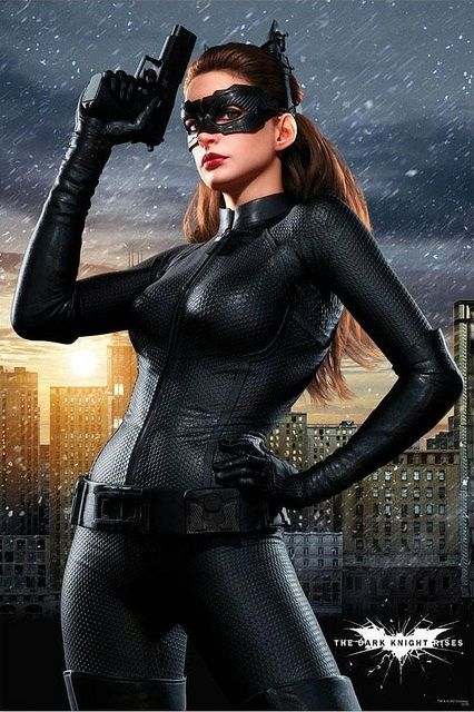 Tdkr Catwoman Build Costume Study Pic Heavy Anne Hathaway