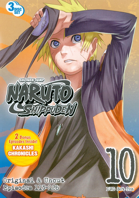 Naruto shippuden box set 10 3 discs dvd best buy