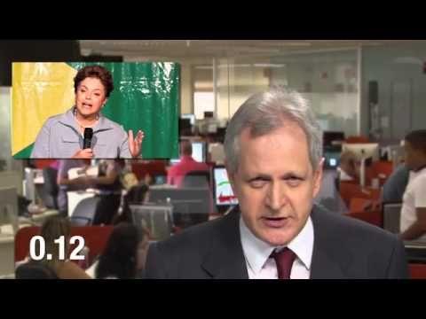 Augusto Nunes humilha a presidente Dilma em vídeo