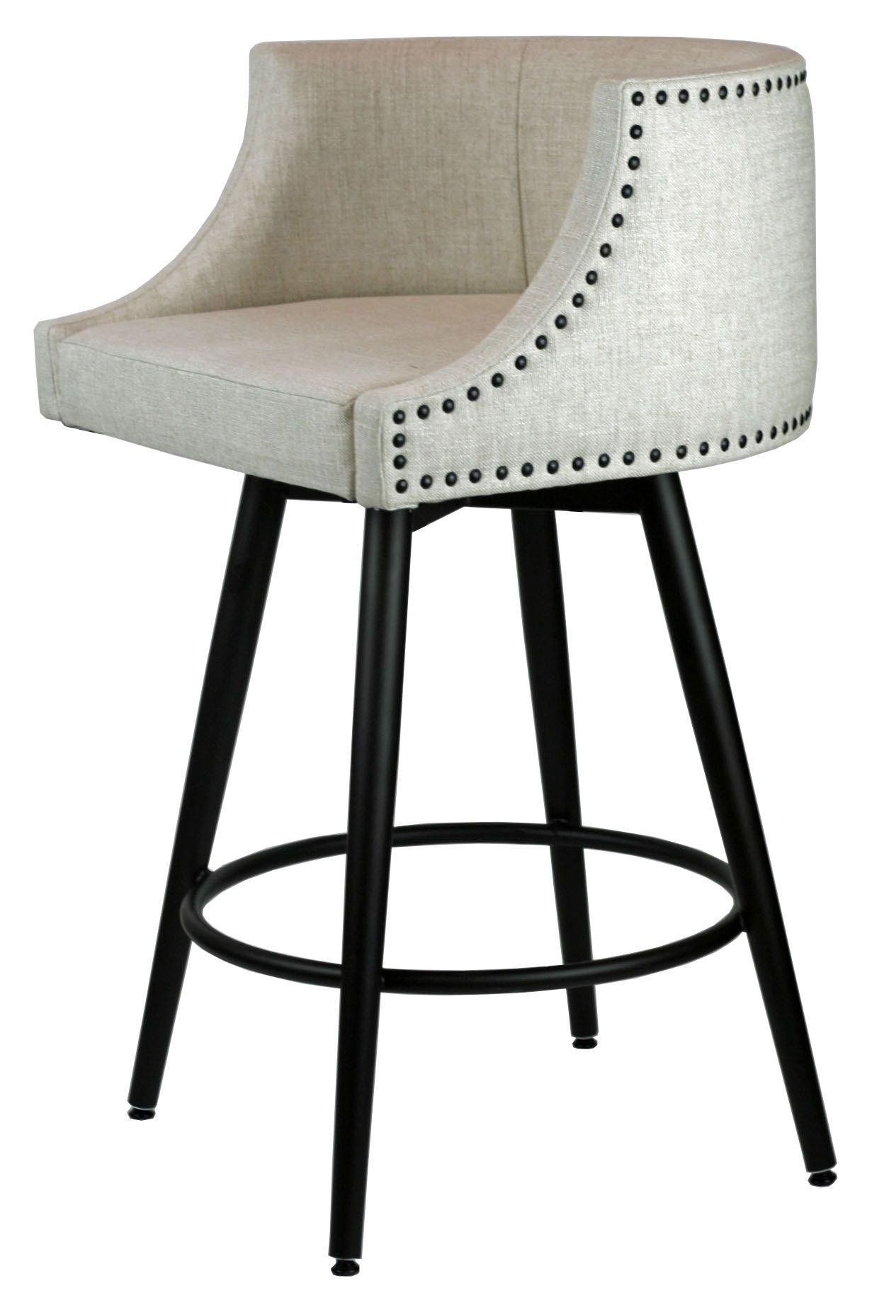 Comfortable swivel stool wmemory return kitchen stools
