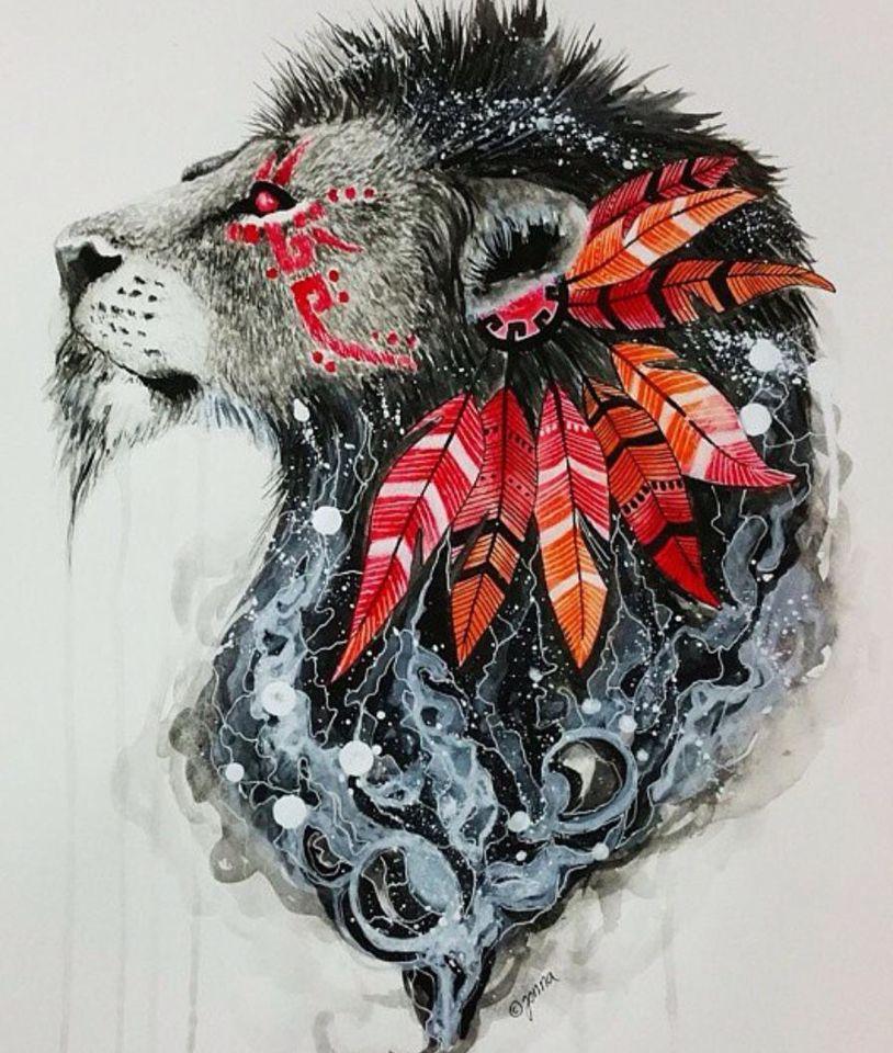 Indian Lion ⚡️ Lion art, Sketch tattoo design, Drawings