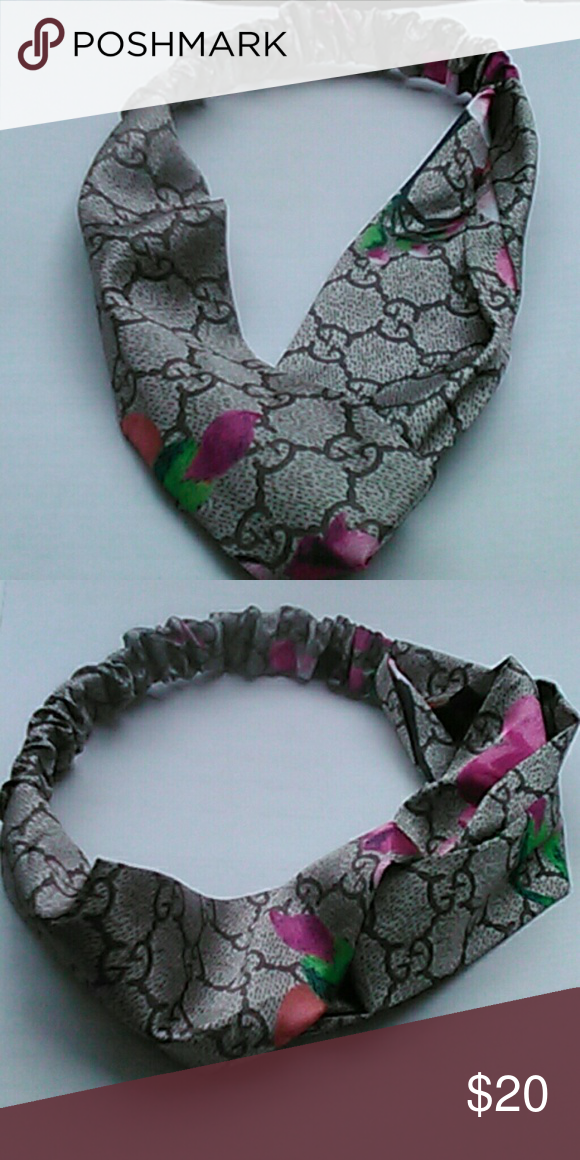 a6254130157  Stylish Grey Toned Headband   Back by popular demand!!! This Gucci inspired