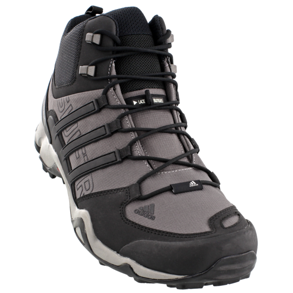new concept 99b77 dc52b Check out the best tactical gear and equipment, including the Adidas Terrex  Swift R Mid Granite Black CH Solid Grey. We have the best customer service,  ...
