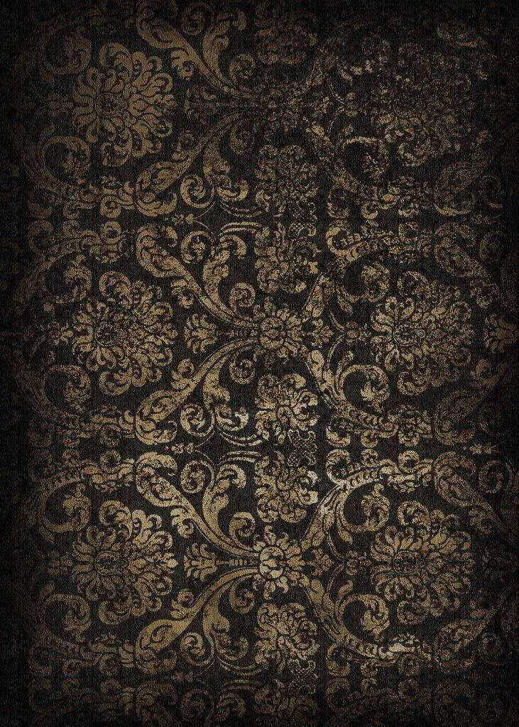 Black, old, ancient, dark wallpaper, quality texture