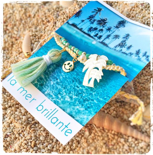 Happy ☆ Beach    NEWシリーズ!!今年トレンドのパームツリーモチーフ♡パームツリーはシェルで出来ているのでカジュアル過ぎず、ユラユラ揺れると...|ハンドメイド、手作り、手仕事品の通販・販売・購入ならCreema。