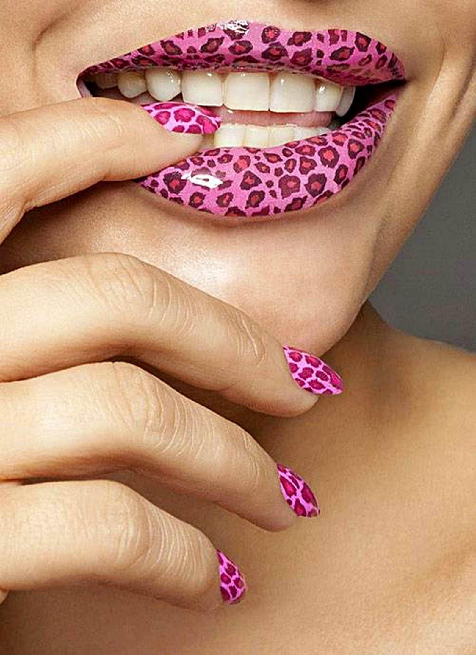 cool animal print nail designs 2013 spring http://gelnaildesignspic ...
