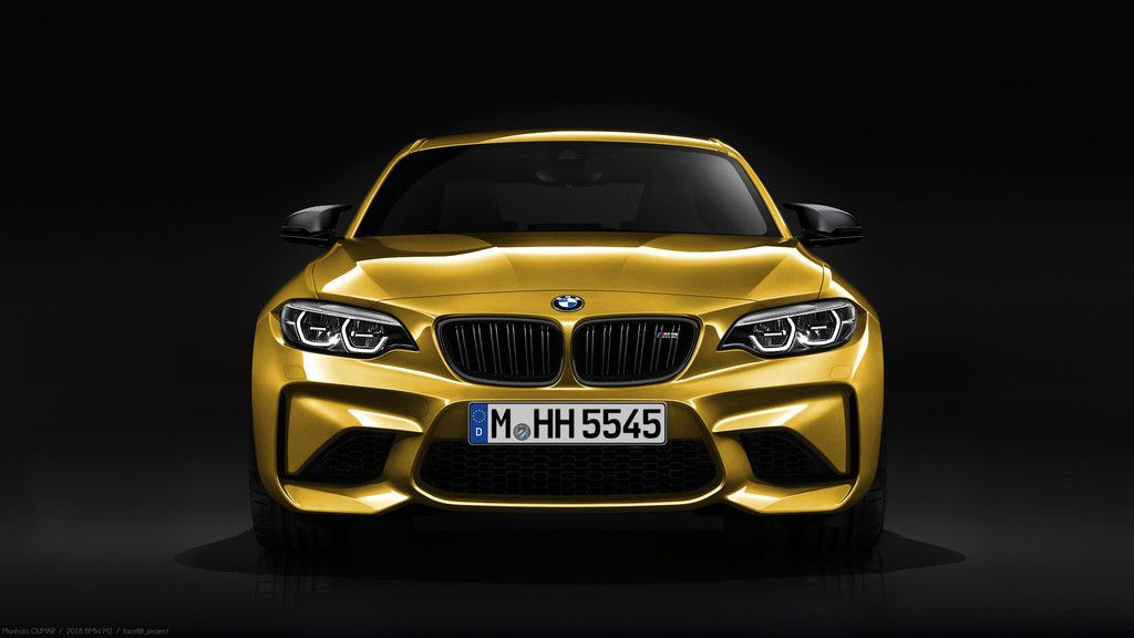 2018 Car Bmw M2 Front View Wallpaper Cars Wallpapers Pinterest