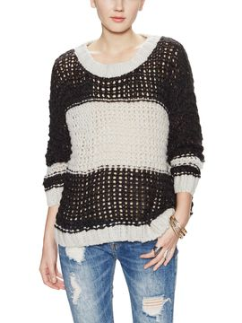 Monaco Open Knit Sweater from Trend To Try: Sporty Style on Gilt