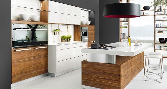 küche mit kochinsel - Google-Suche Kitchen Pinterest - küchen team 7