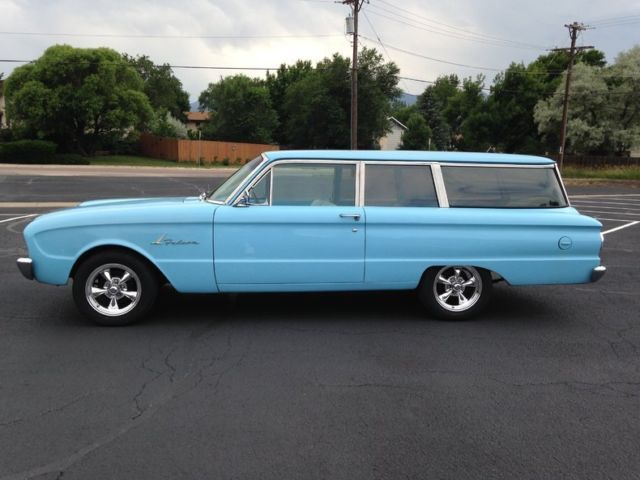 1961 Ford Falcon 2 Door Wagon For Sale Photos Technical