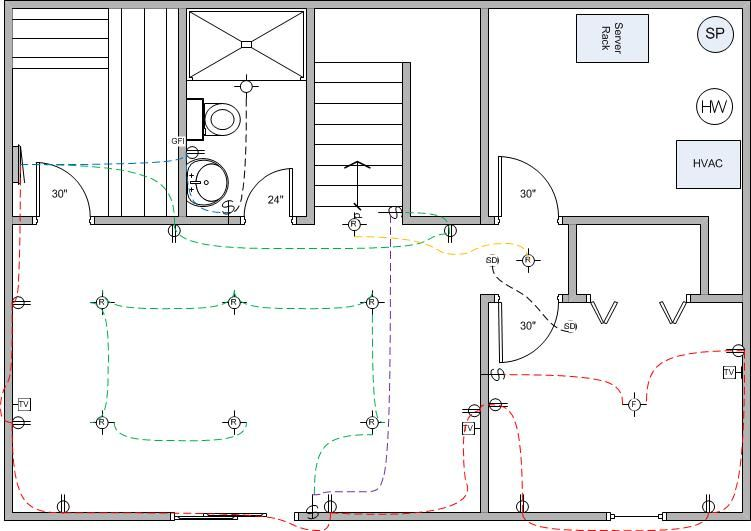 Electrical Wiring Diagram For House Http Bookingritzcarlton Info Electrical Wiring Diagram For House Electrical Layout Basement Remodel Diy Rewiring A House