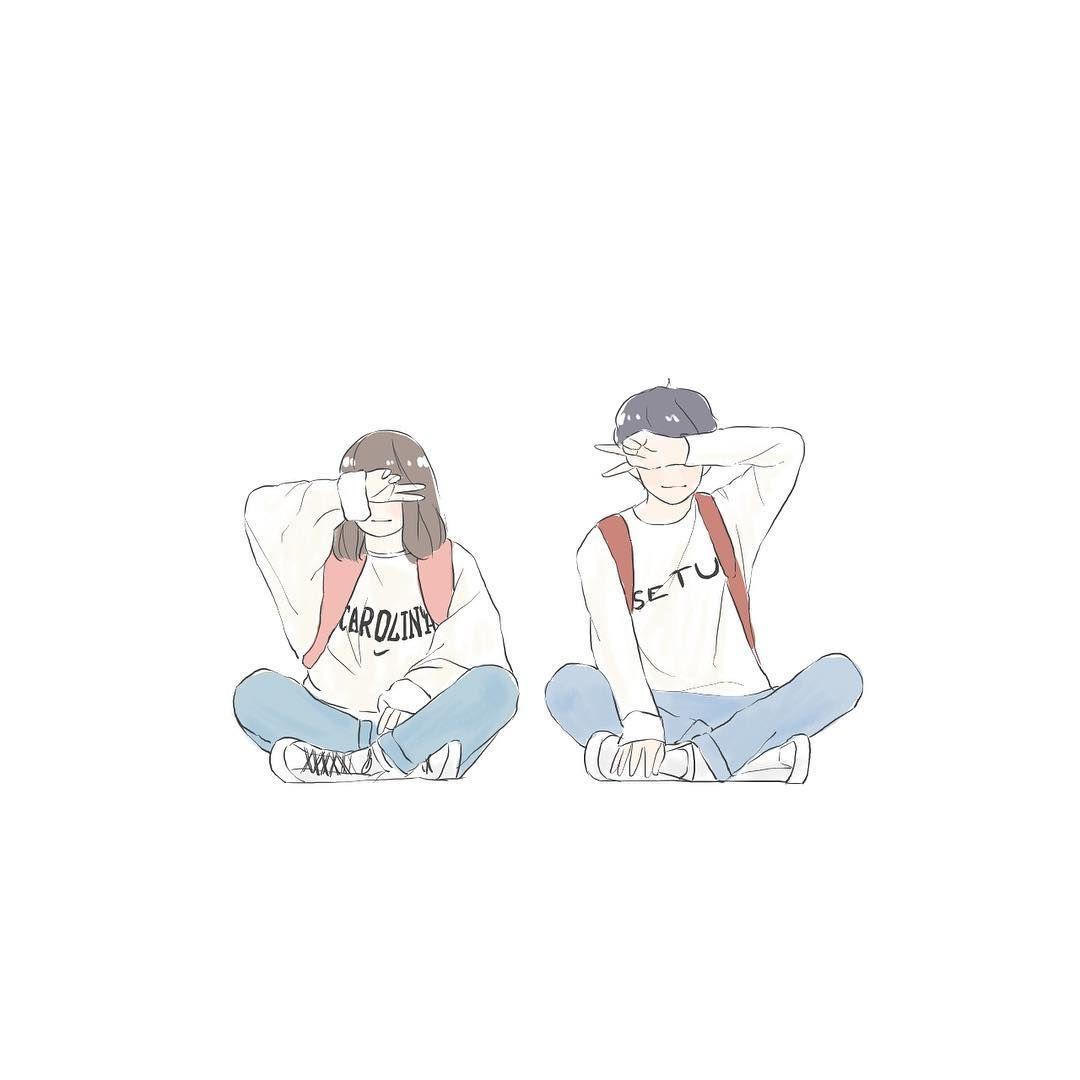 19 Ideas For Anime Aesthetic Wallpaper Iphone Cute Couple Wallpaper Cute Couple Art