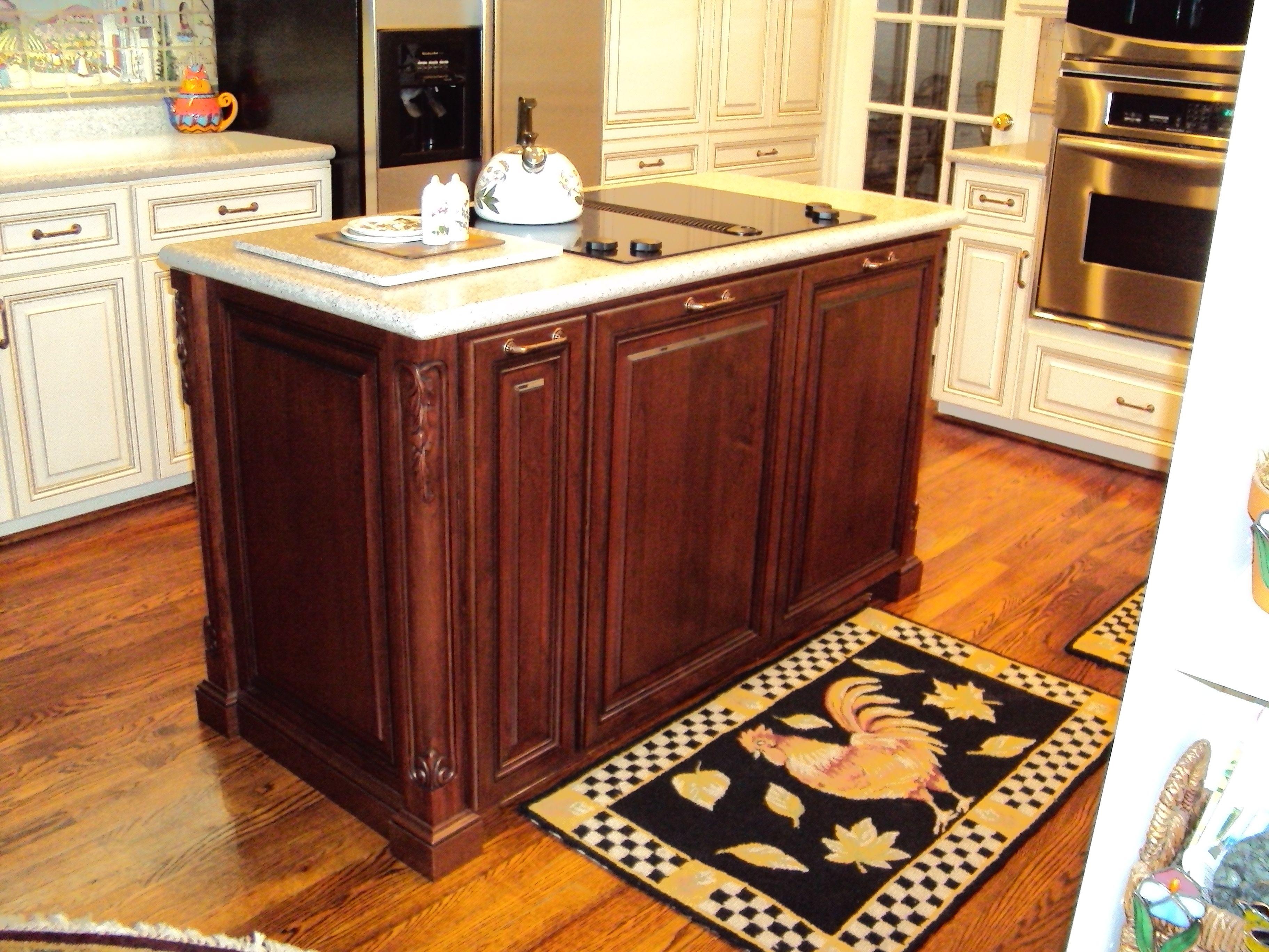 Island by Kitchen Saver   Custom kitchen cabinets ...