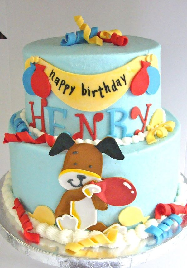 Kipper The Dog Cake By Bella Cakes My Boys Birthday Bash Inspiration