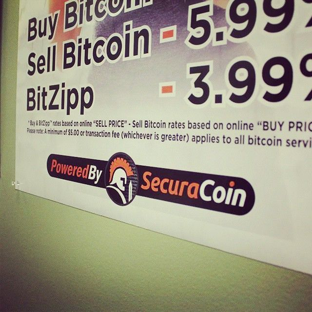SecuraCoin In-store Poster