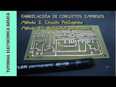Tutorial Electrónica Básica Cap 15 Cómo Hacer Circuitos Impresos Pcb I Youtube Circuitos Impresos Circuitos Componentes Electronicos