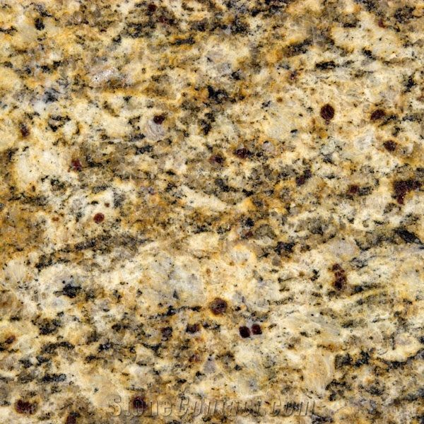 Giallo Santa Cecilia Granite New Kitchen Santa Cecilia