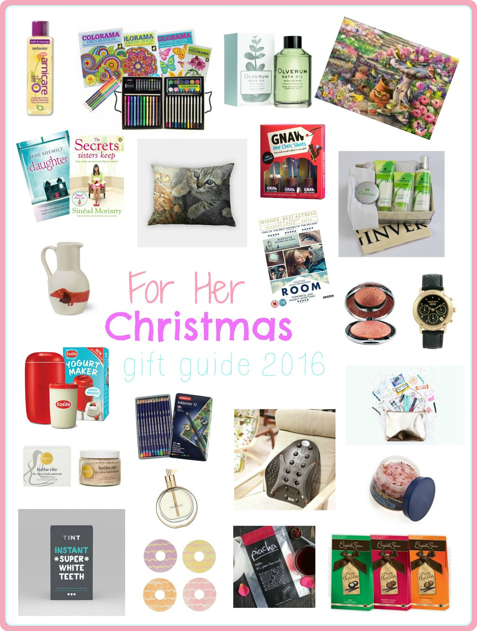 Top Gifts For Christmas 2016 For Her Part - 46: For Her Christmas Gift Guide 2016