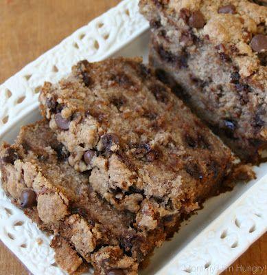 MIH Recipe Blog: Gluten Free Banana Chocolate Chip Crumb Bread