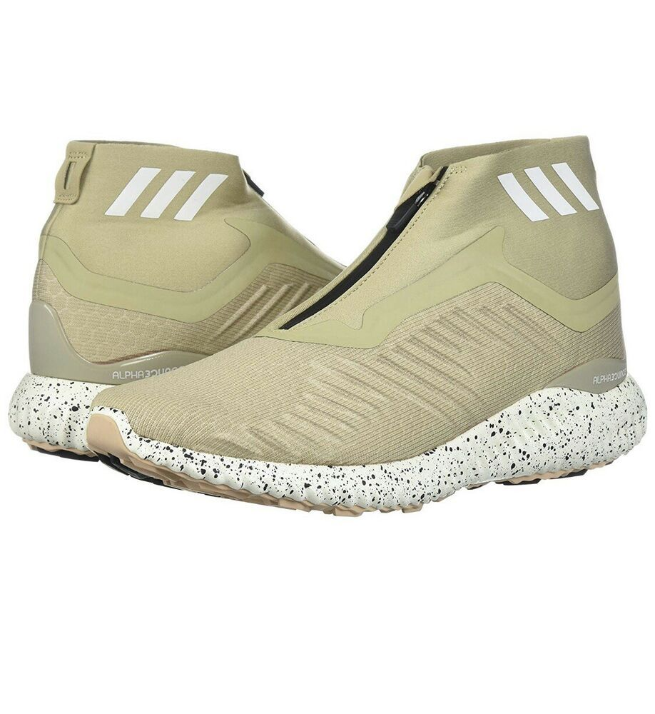 adidas Alphabounce Zip Khaki Running Schuhe Herren Running