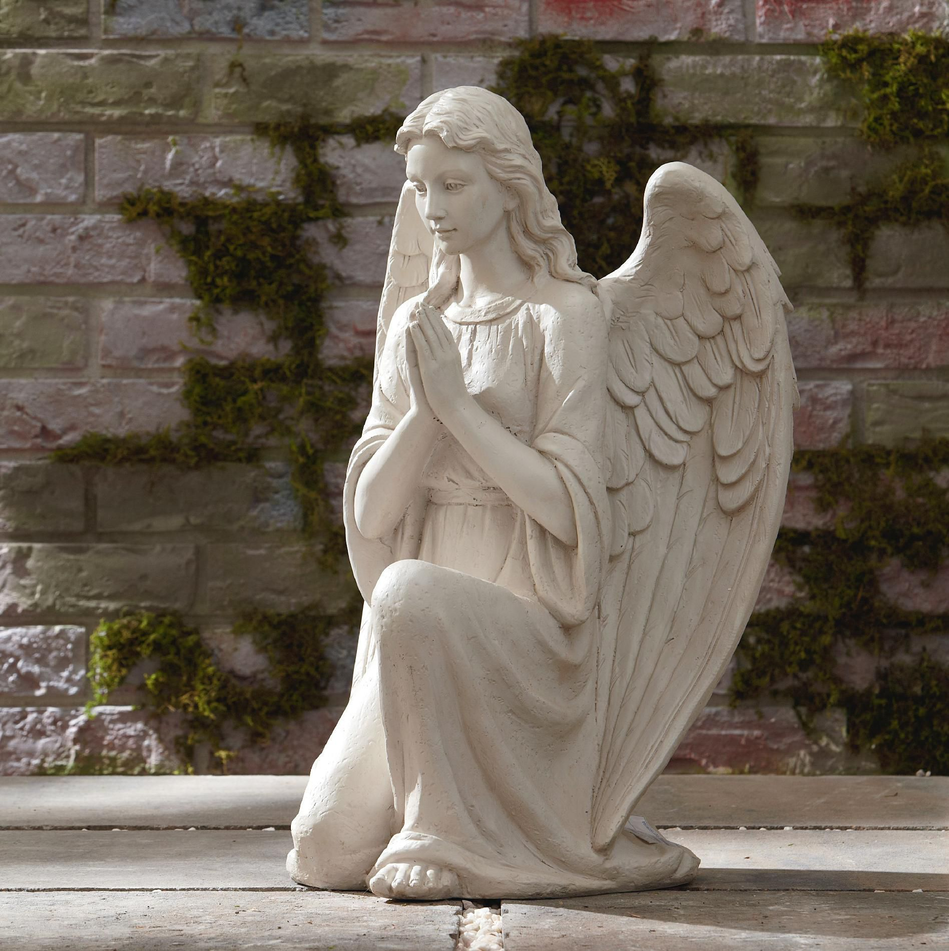 Add Ethereal Beauty To Your Garden, Porch, Or Patio With This Inspiring  Angel Statue
