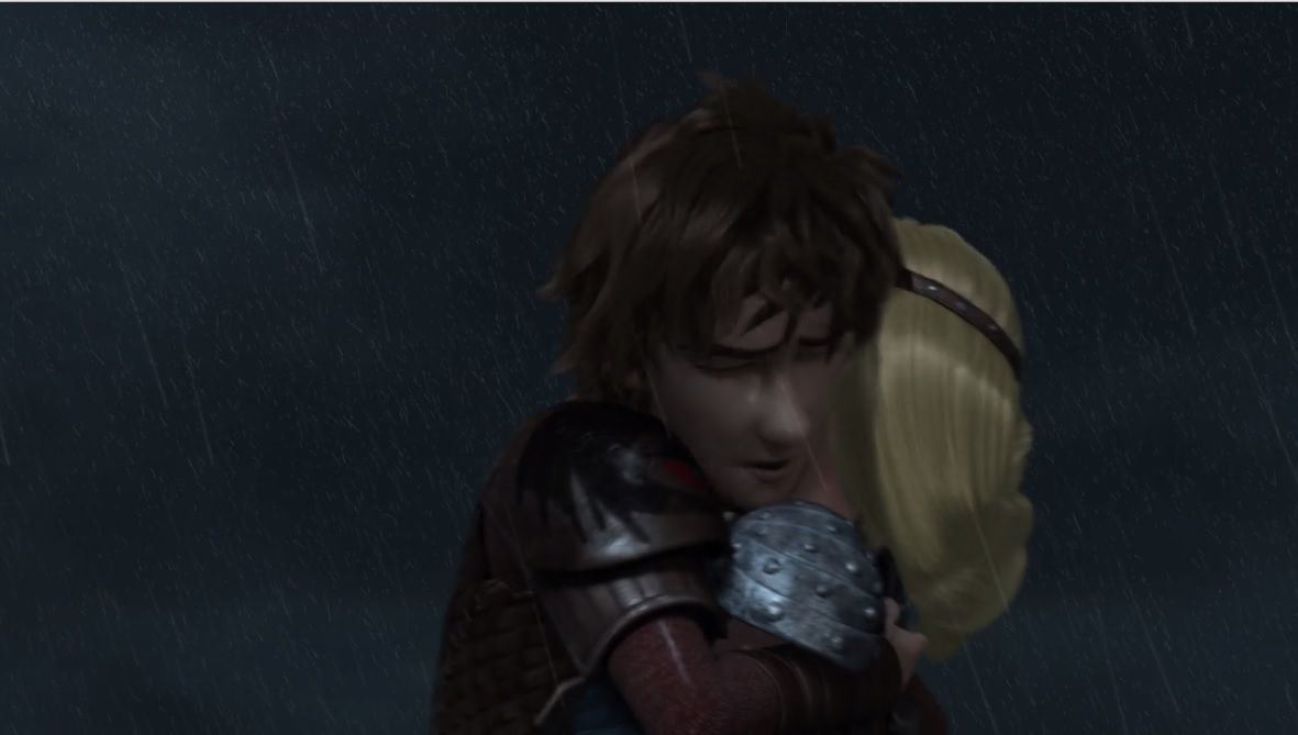 Find This Pin And More On How To Train Your Dragon Hiccup Hugging Astrid