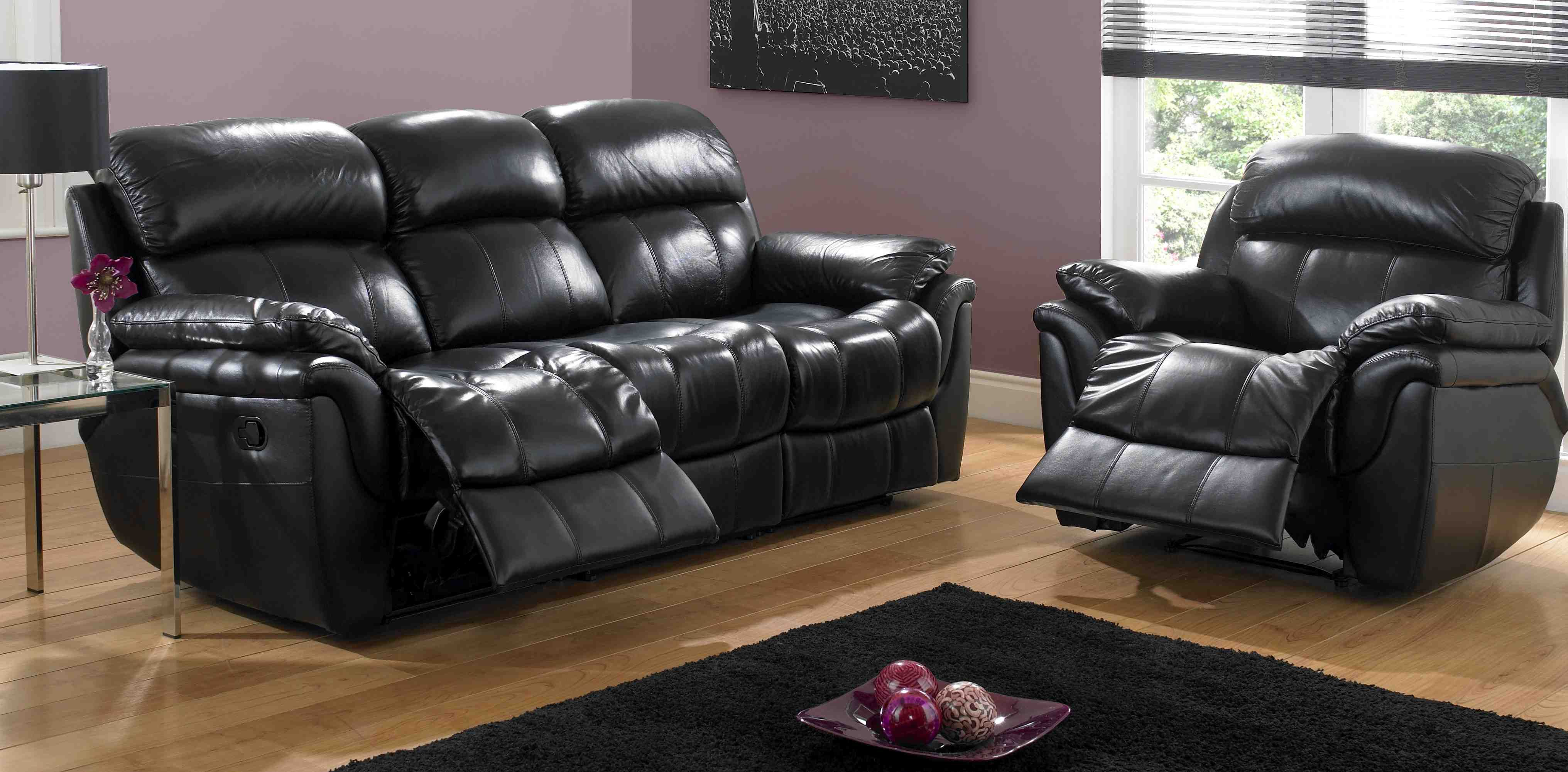 Leather Sofa Recliners Leather Reclining Sofa Leather Couches For Sale Sofa