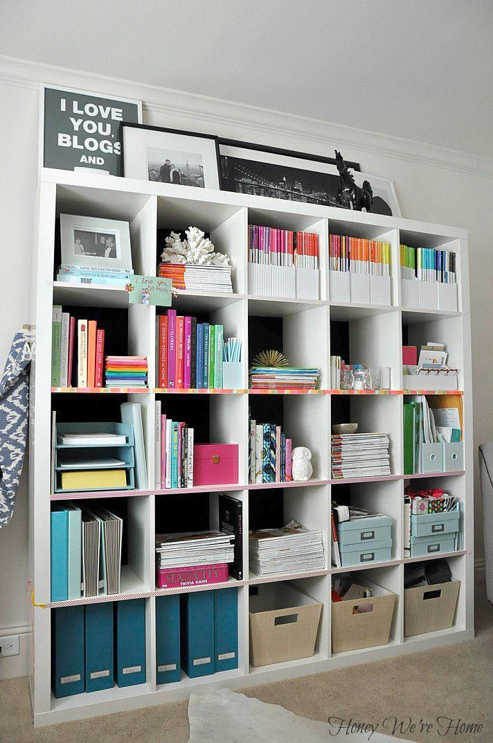 Washi Tape Bookshelf