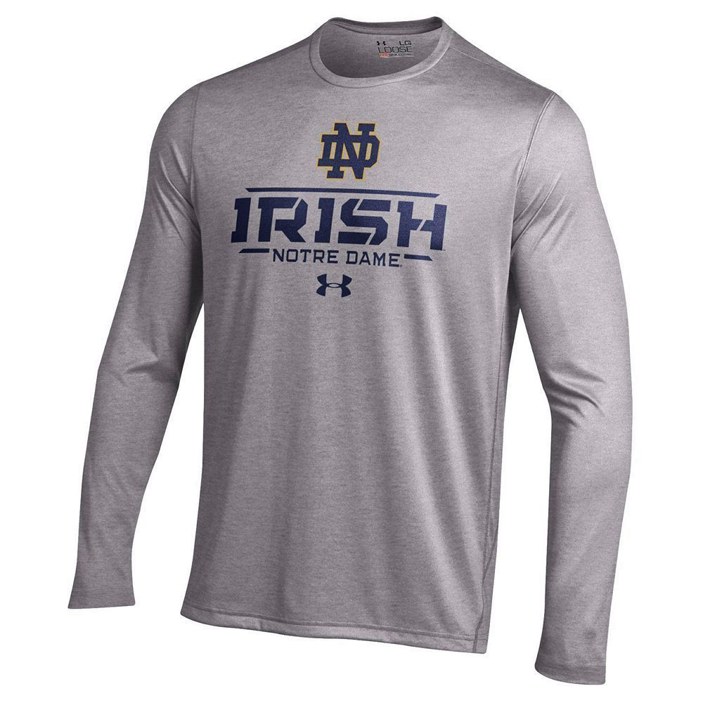 Men's Under Armour Notre Dame Fighting Irish Tech Long
