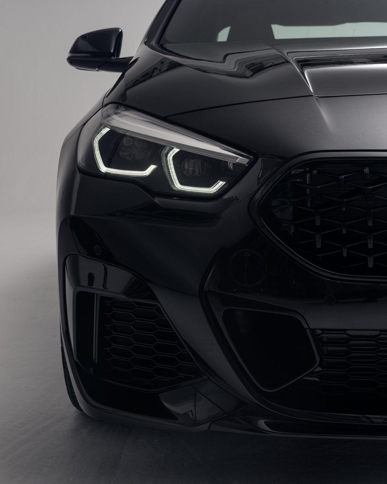 Bmw 2 Series Gran Coupe In Sapphire Black Looks Pretty Good Bmw 2 Bmw Coupe