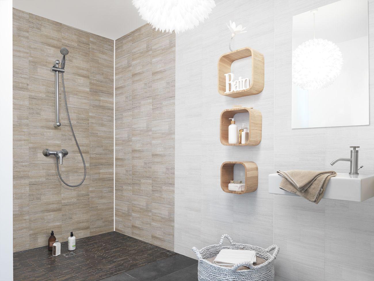 Revestimiento element mineral dune  Salle de bain, Panneau douche