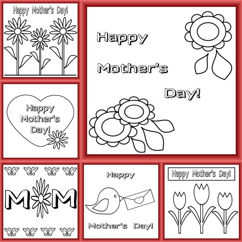 Color cards for kids - Mother S Day Cards Free Printable Mother S Day