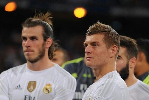 Toni Kroos Gareth Bale Real Madrid Football Real Madrid Real Madrid Football Club