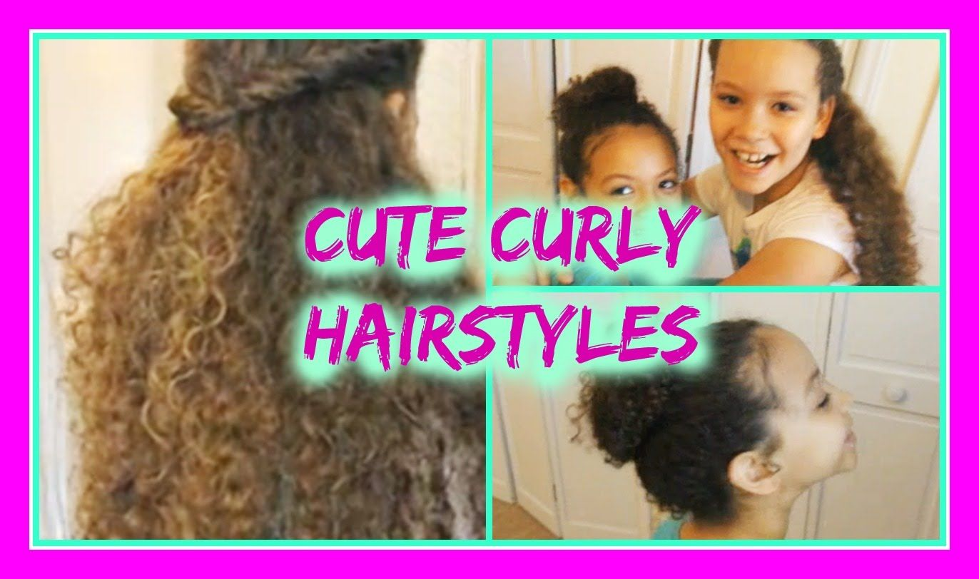 Hairstyles for curly hair girl hairstyles for curly hair