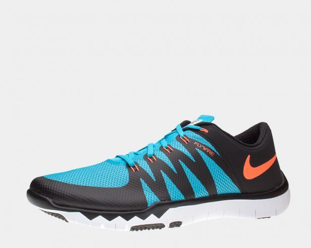 Mens Nike Free Trainer 5.0 V6 Black/Blue Lagoon/Blue Force/Bright Crimson · Training  ShoesRunning ...