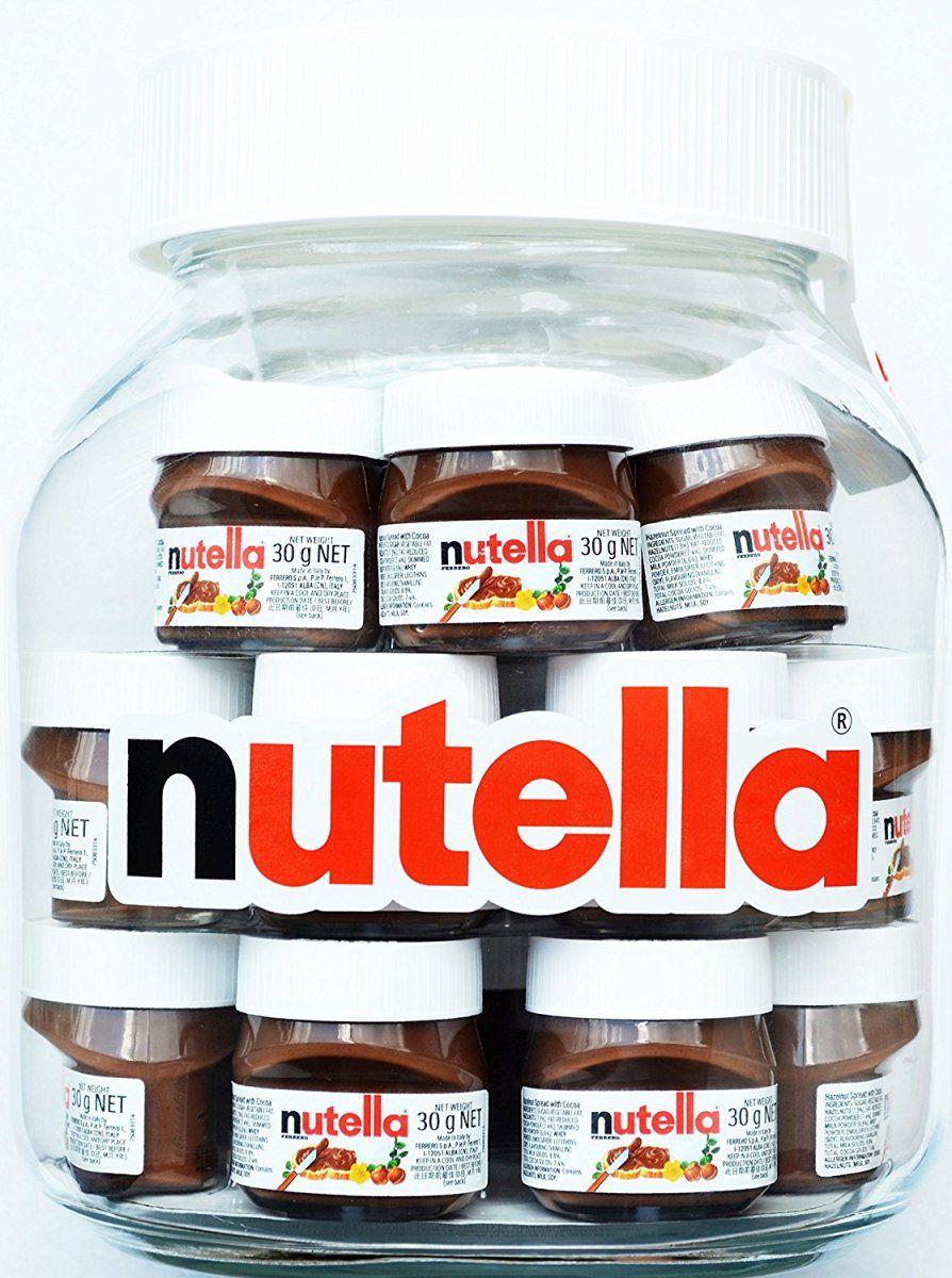 Jumbo Nutella Jar 91 00 Nutella Jar Nutella Nutella Glass