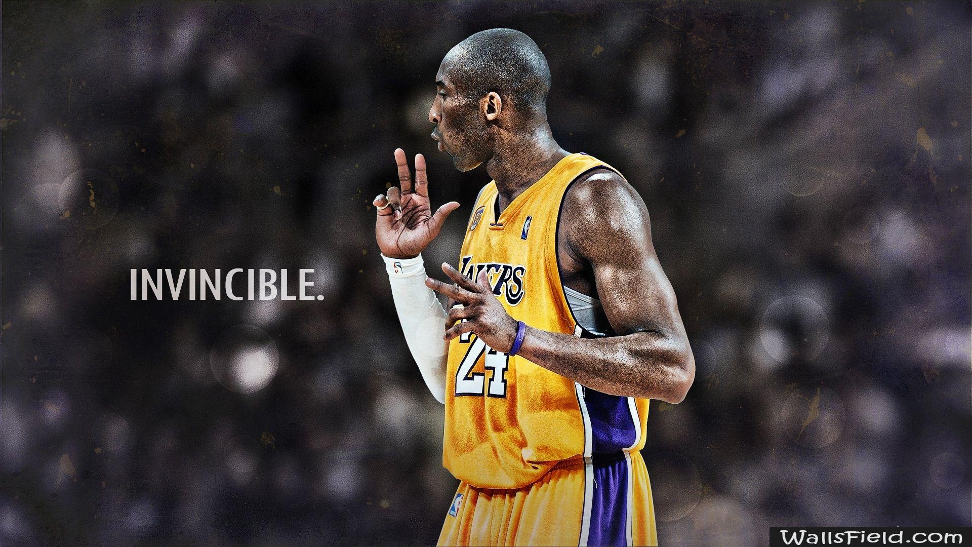 Kobe Bryant Invincible Basketbol