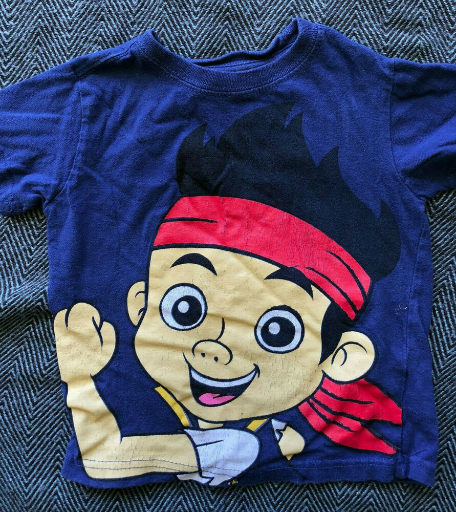 Disney Jake And The Never Land Pirates Long Sleeve T Shirt Boy Size 2T 3T