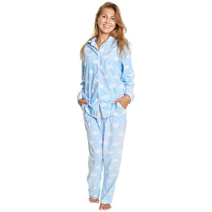 Angelina Cozy Fleece Pajama Set  56 Clouds XL  335281787
