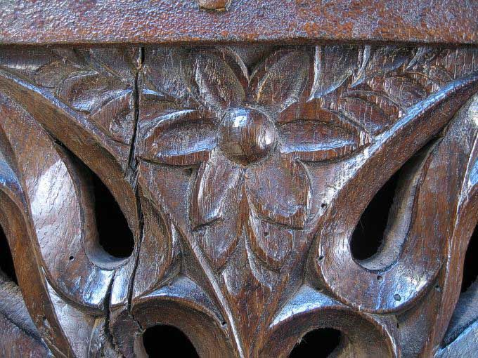 Medieval Style Carving Detail Replica furniture